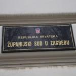 Zagreb courthouse