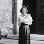 My mom in Berlin, post war